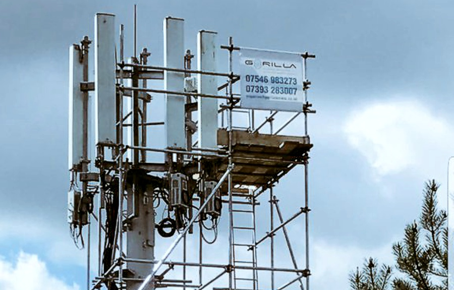 Industrial Scaffolding Company in Chester, Cheshire, Merseyside, North Wales