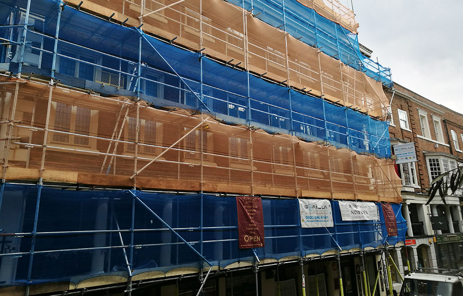Commercial Scaffolding Hire Chester North Wales