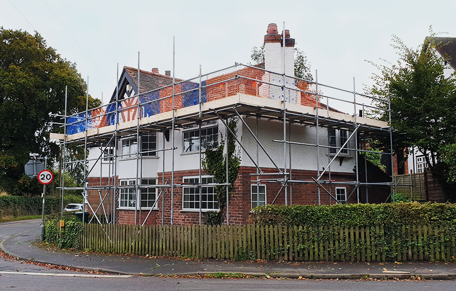 Domestic Residential Scaffolding Hire Chester